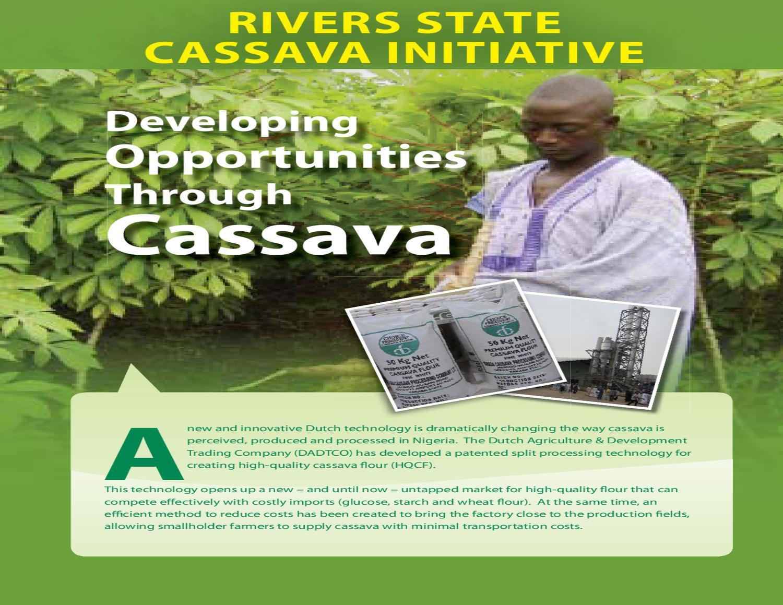 Rivers State Cassava Initiative by IFDC - issuu