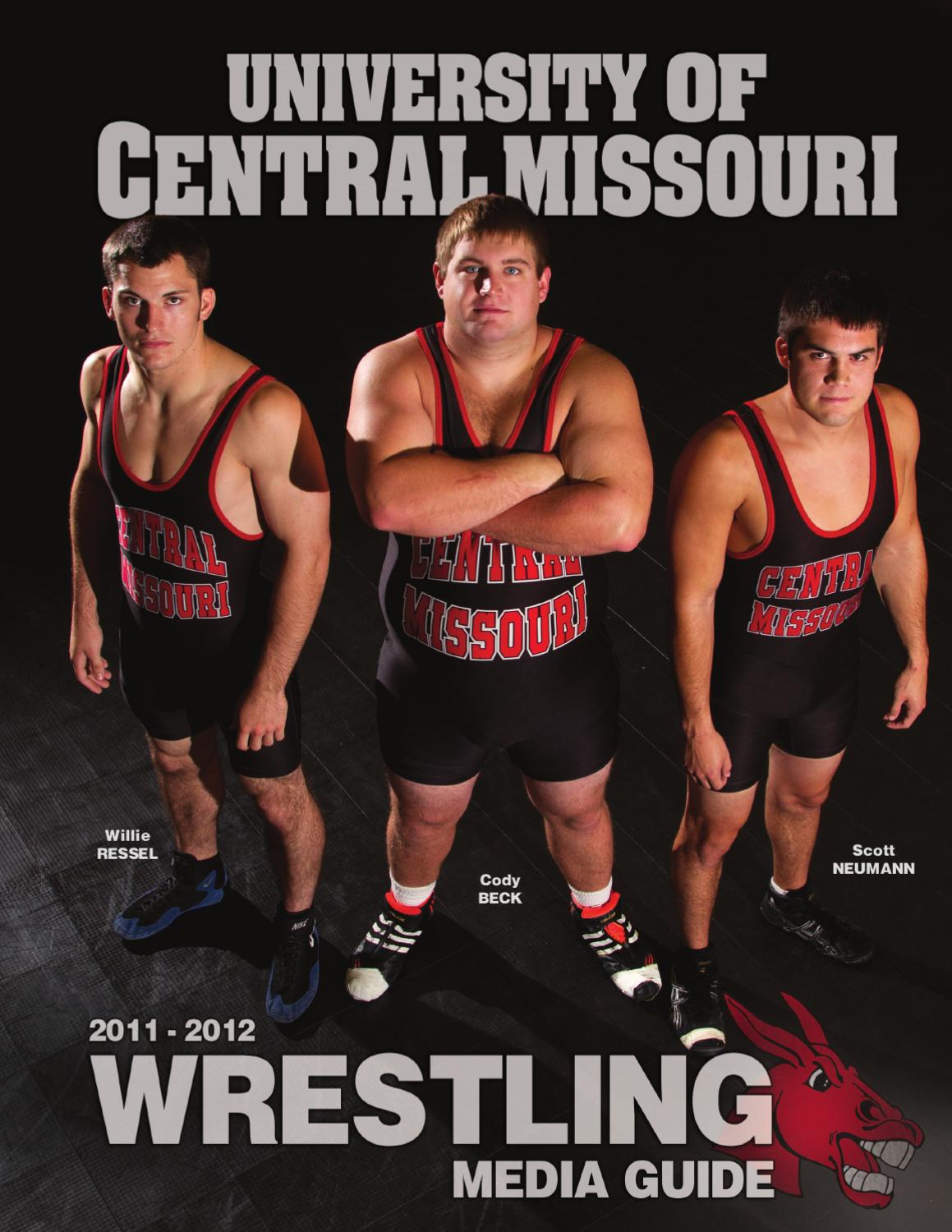 2011-2012 Mules Wrestling Media Guide by UCM Athletics - Issuu