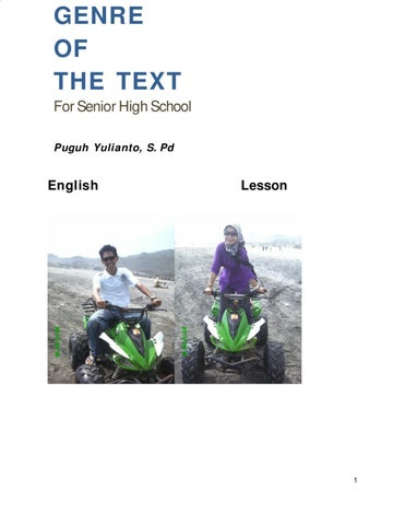 dc2f2d5179c Genre of the text by Puguh Yulianto - Issuu