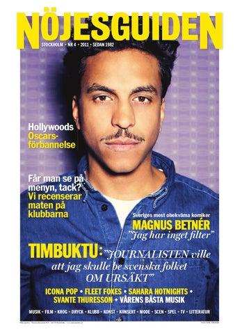 Timbuktu ska lara stockholmare att ata falafel