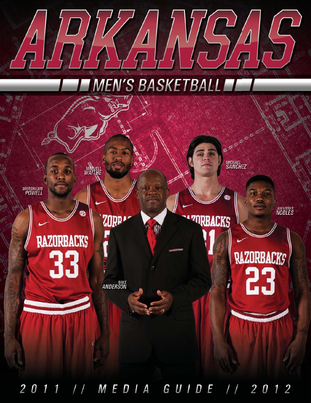 2011-12 arkansas men's basketball media guide by university of
