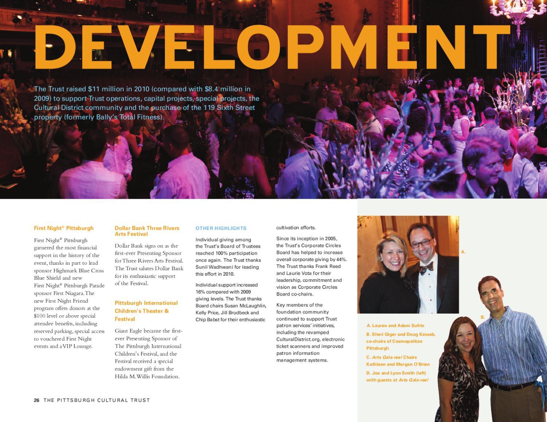 2010 Pittsburgh Cultural Trust Annual Report