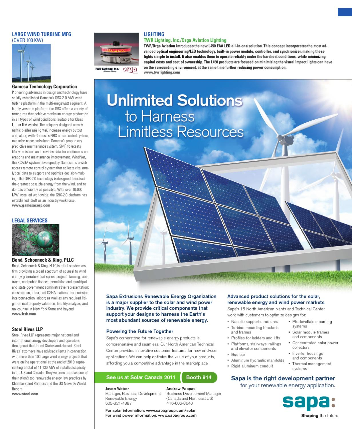 North American Clean Energy - November December2011 by North