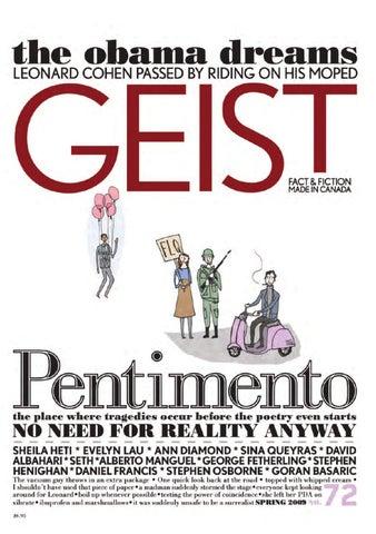 d2ef0d258040 Geist 72 - Spring 2009 by Geist Magazine - issuu