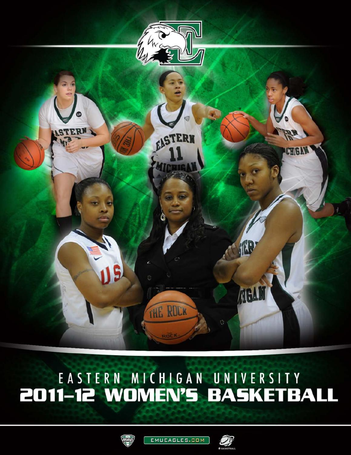 2011-12 EMU Women s Basketball Media Guide by Eastern Michigan University  Athletics - issuu dbadeec87