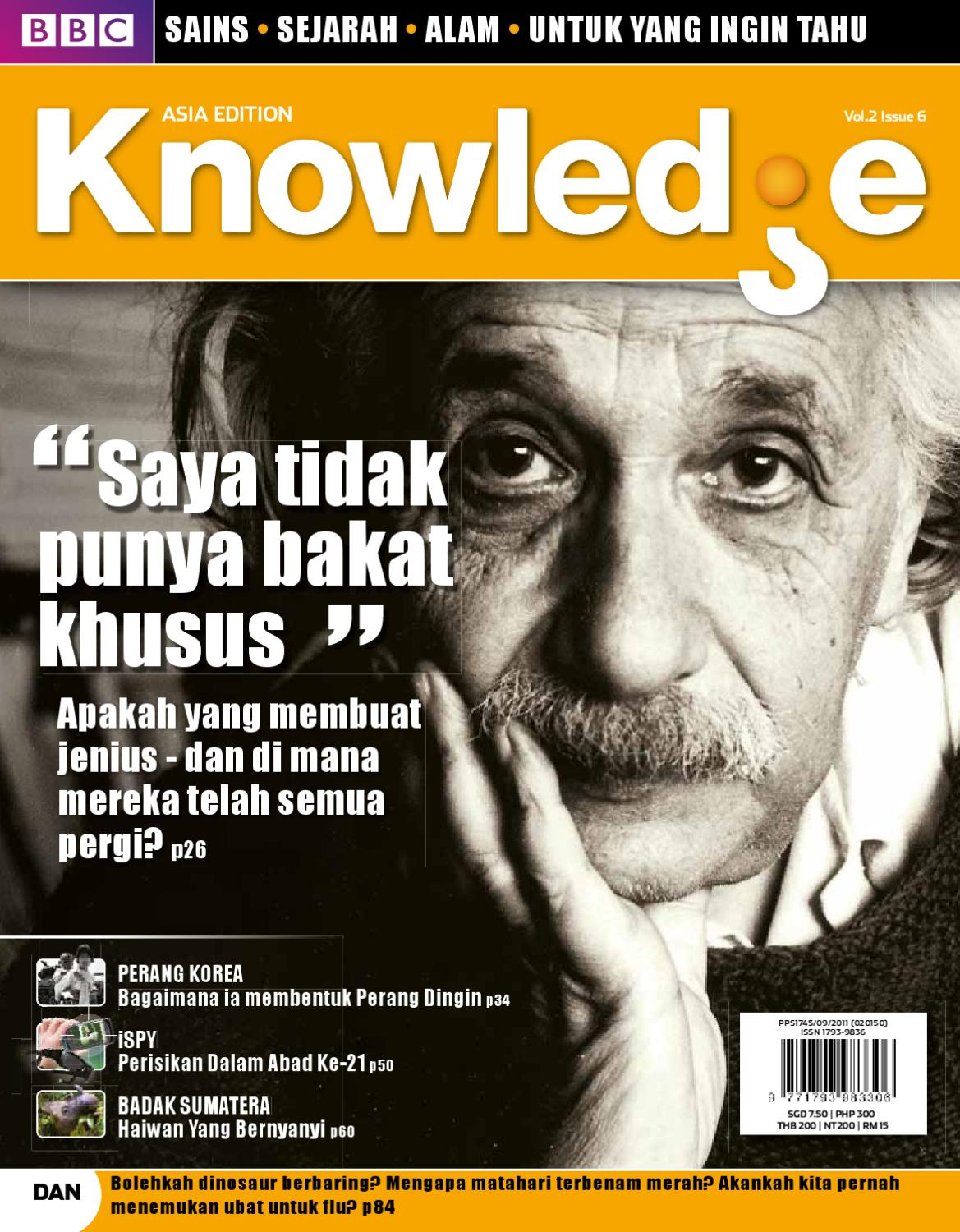 BBC Knowledge Magazine Malaysia Edition 2012 Jan By