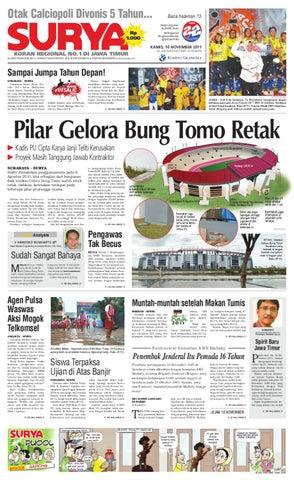 E-paper Surya Edisi 10 November 2011 by Harian SURYA - issuu 608b5fb674