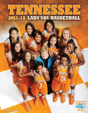 2011-12 Tennessee Lady Vol Basketball Media Guide by The University