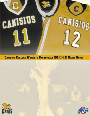 63fd67a26ad0 2011-12 Canisius College Women s Basketball Media Guide by Canisius ...