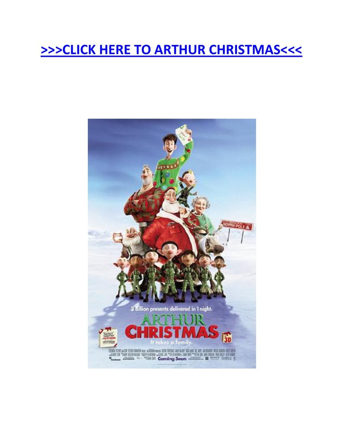 Watch Arthur Christmas Online By August Knewts Issuu