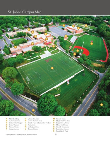 St Johns Campus Map.St John S View Book By St John S College High School Issuu