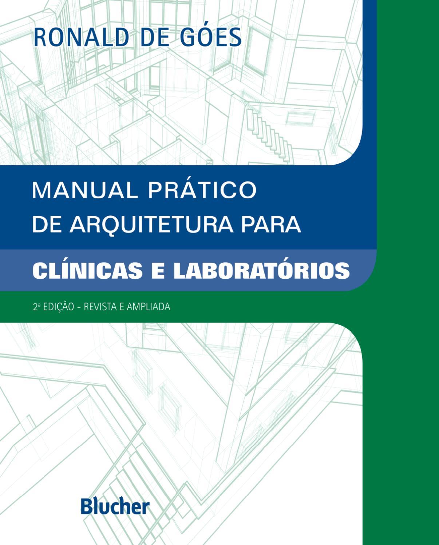 Manual Pr Tico De Arquitetura Para Cl Nicas E Laborat Rios 2