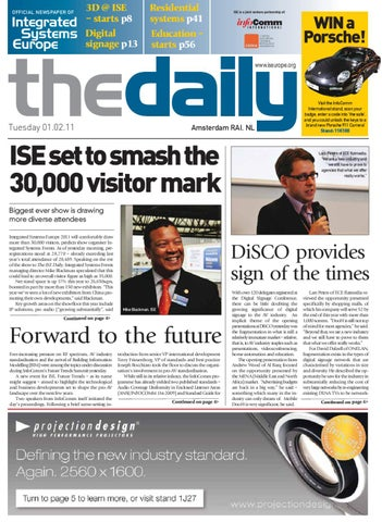 ise daily 1 feb 2011