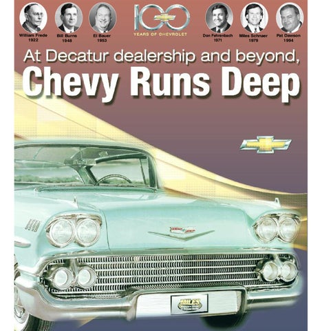 100 Years Of Chevrolet By Herald Review Issuu