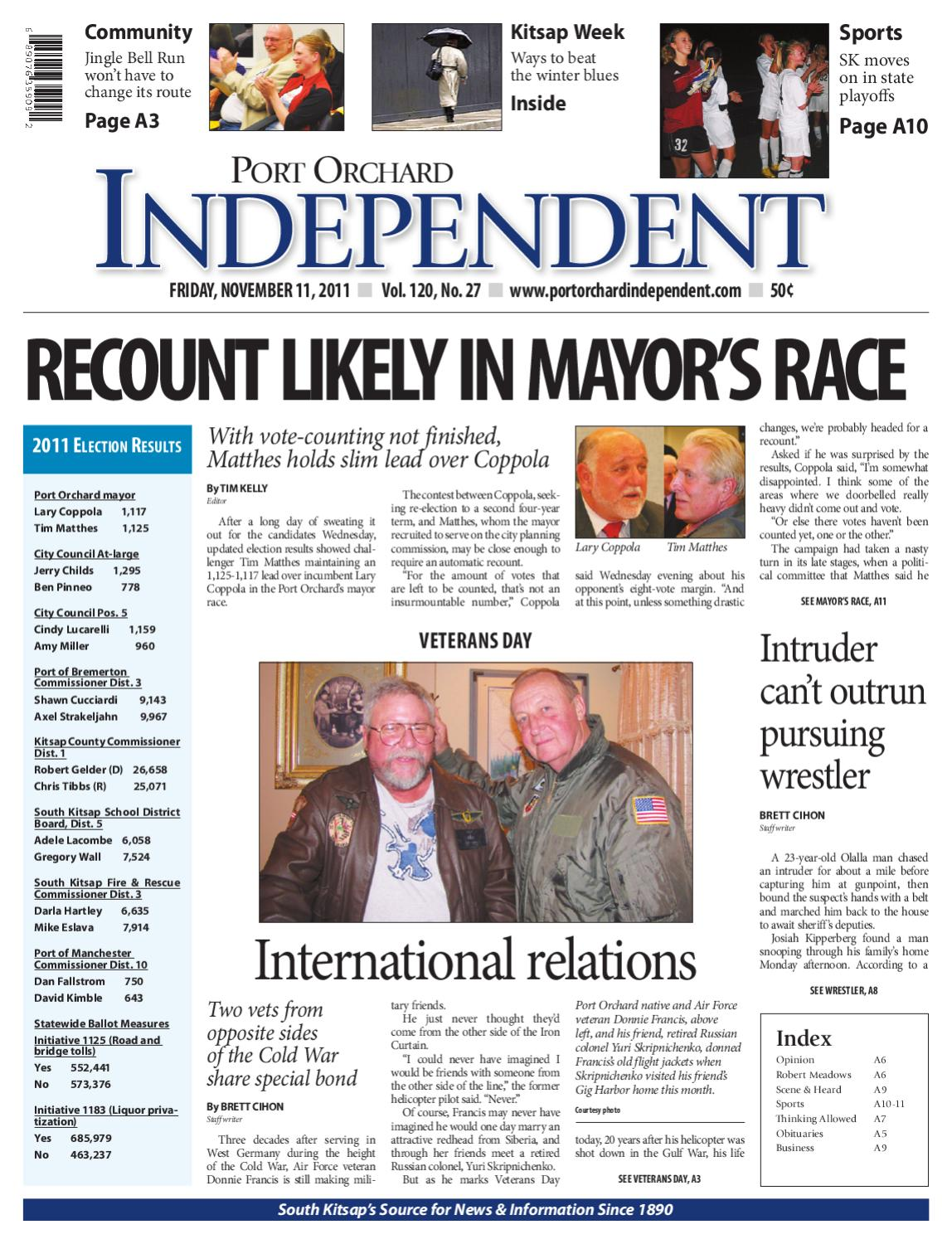 Port Orchard Independent November 11 2011 By Sound Publishing Issuu