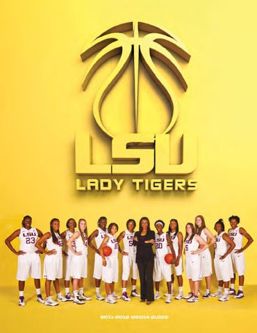 eed35b7fe 2011-12 LSU Men s Basketball Media Guide by LSU Athletics - issuu