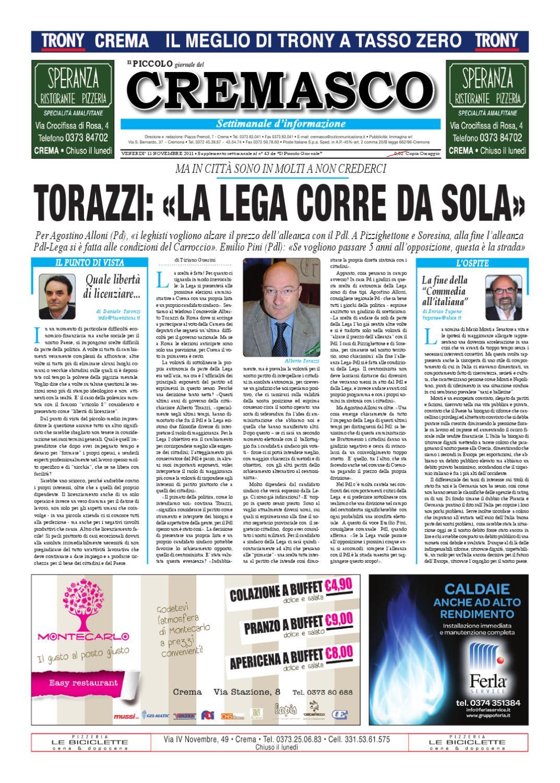 Il PIccolo del Cremasco by promedia promedia - issuu d3155c2596de