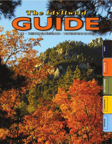 Idyllwild Guide Winter-Spring 2011-12 by Idyllwild Town