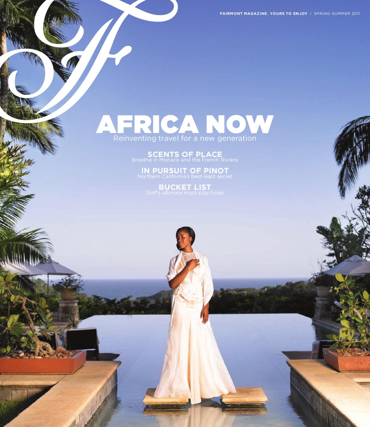 8447ae7d728 Fairmont Magazine - summer 2011 by Spafax - issuu
