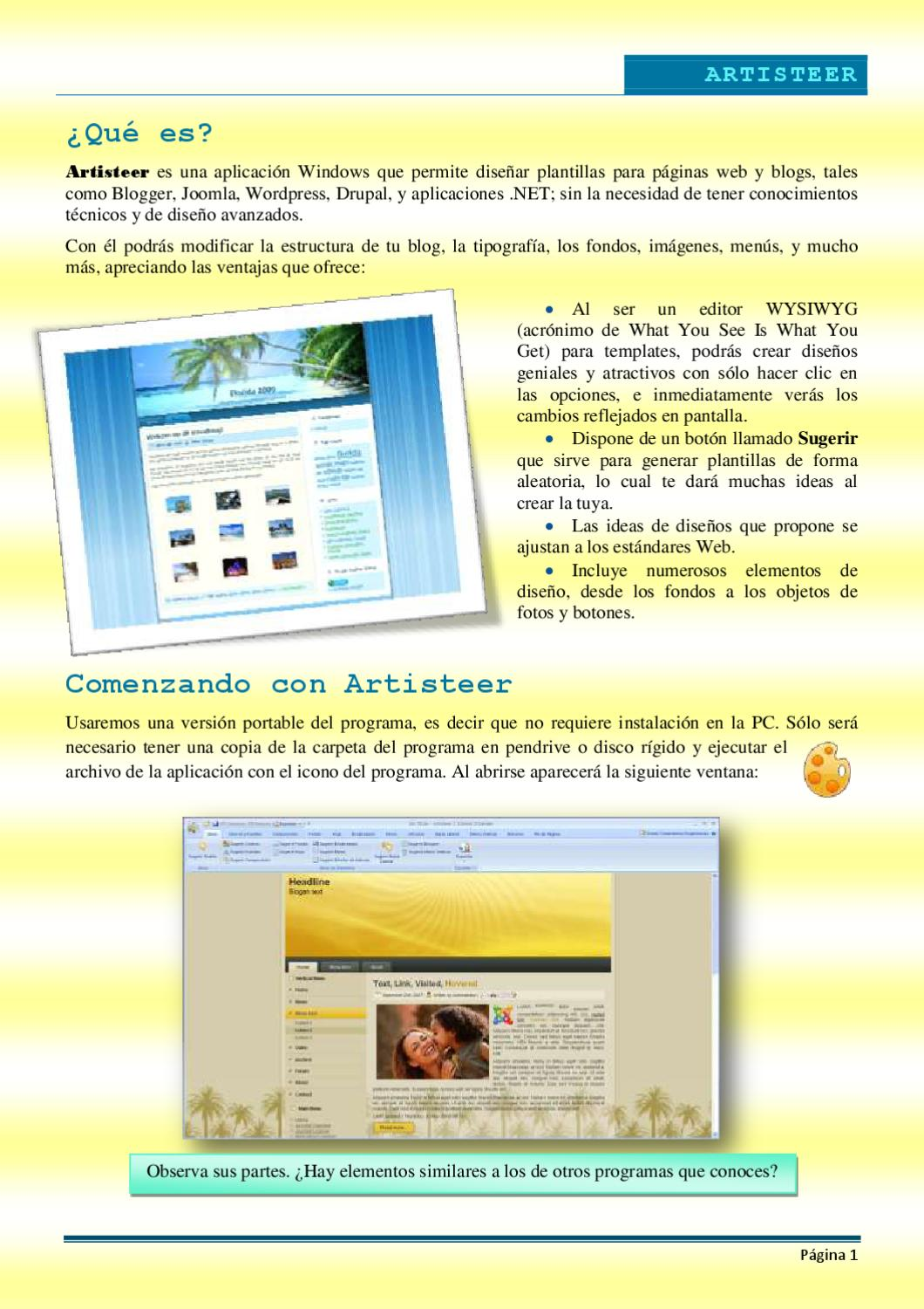 Guia de Artisteer by Maria Alicia - issuu