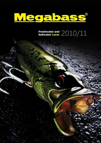 megabass lures by lucky fishing - issuu