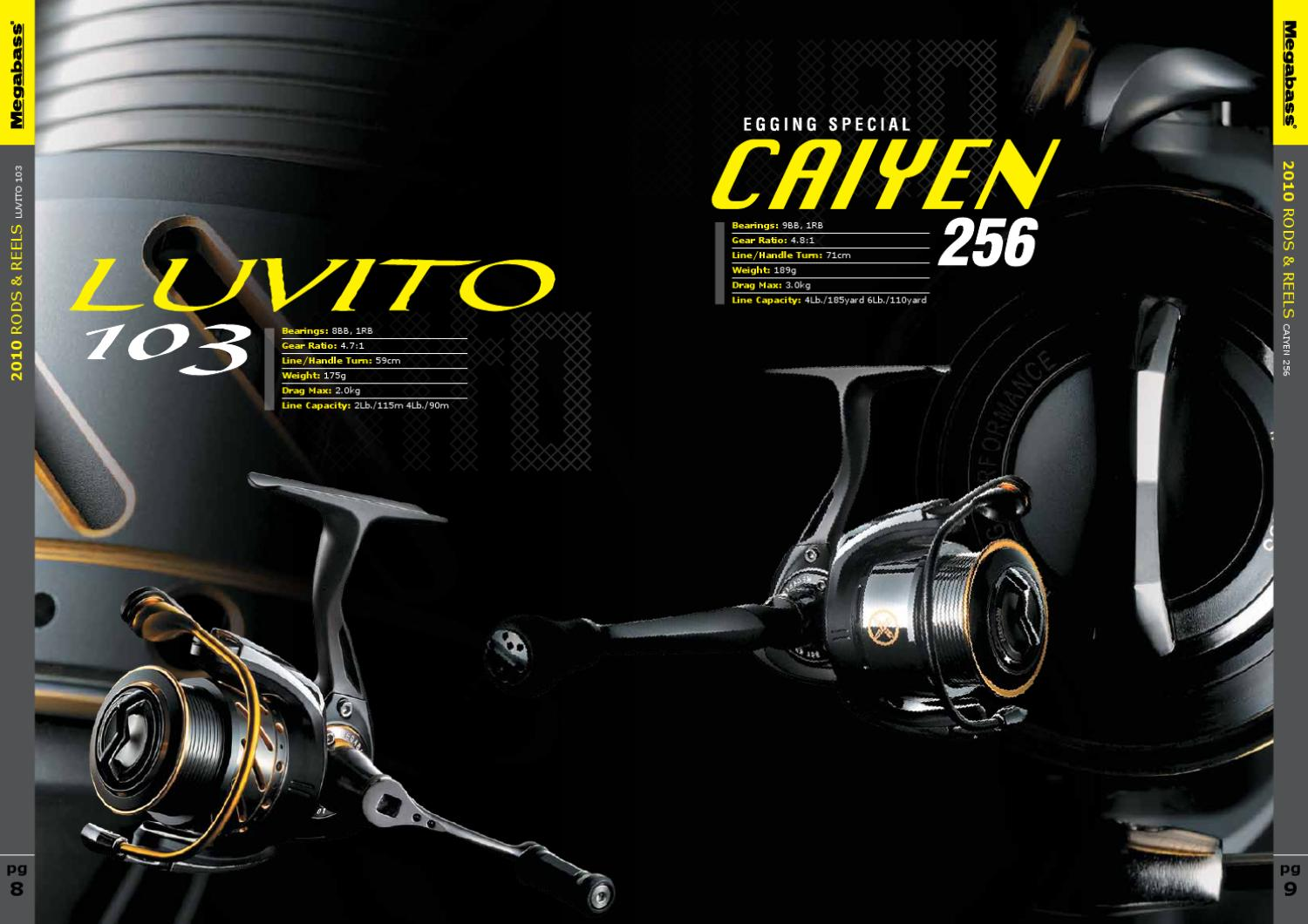 megabass rods and reels by lucky fishing - issuu