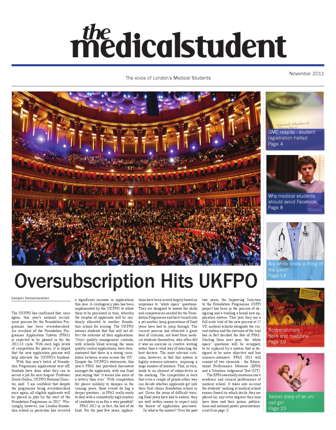 MS November 2011 By The Medical Student Issuu