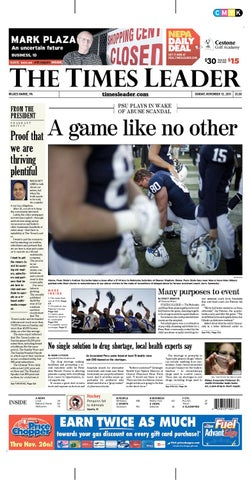 Times Leader 11-13-2011 by The Wilkes-Barre Publishing Company - issuu 7ba4a91b2