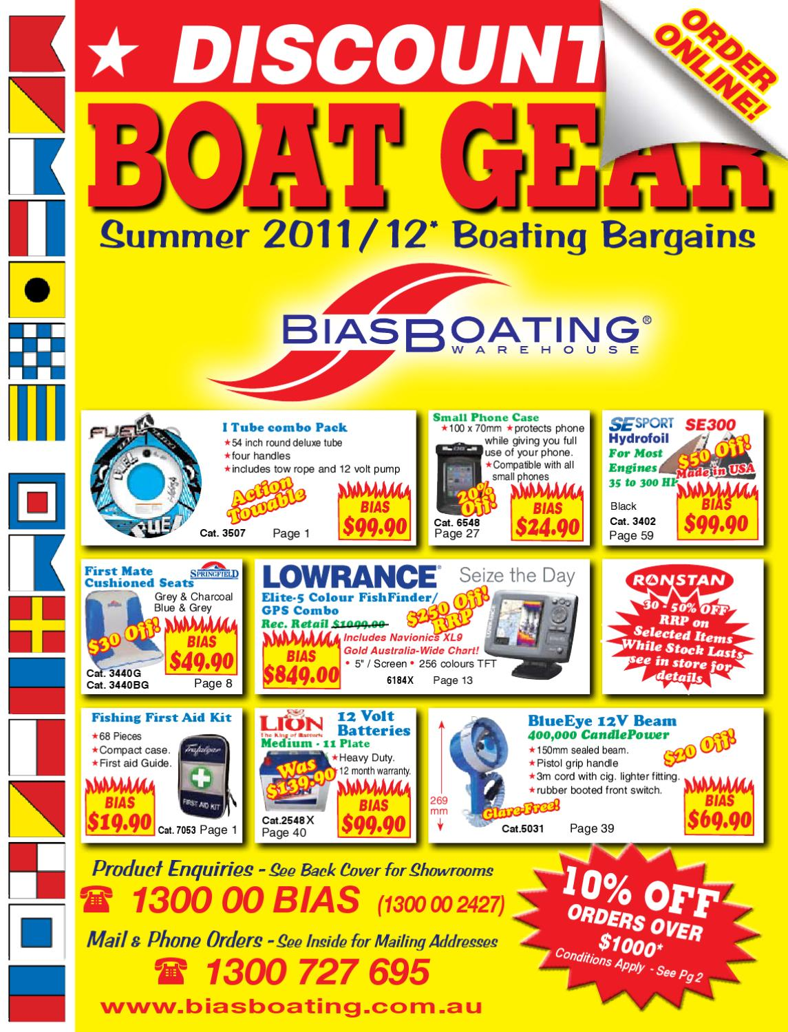 11393d8e9d0d2 Bias Boating Summer 2011 2012 Product Catalogue by Bias Boating Warehouse -  issuu