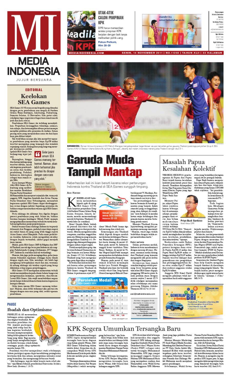 Media Indonesia By Asmat Issuu Produk Ukm Bumn Tenun Pagatan Kemeja Pria Biru Kapal