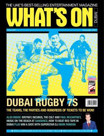 1b2d5e0fe3b01f What s On Dubai Edition by Motivate Publishing - issuu