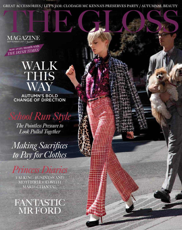 39bb3e62bd The Gloss Magazine September by Gloss Publications Ltd - issuu