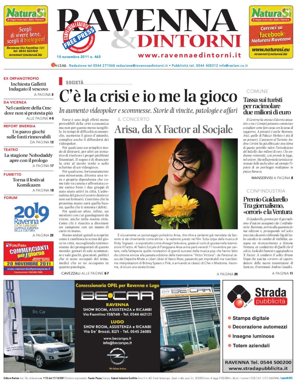 Supermercato Della Ceramica 2000 Srl.Ravenna Dintorni 463 10 11 2011 By Reclam Edizioni E