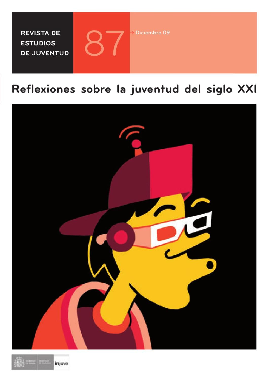 Revista de Estudios de Juventud, Nº 87. Reflexiones sobre la ...