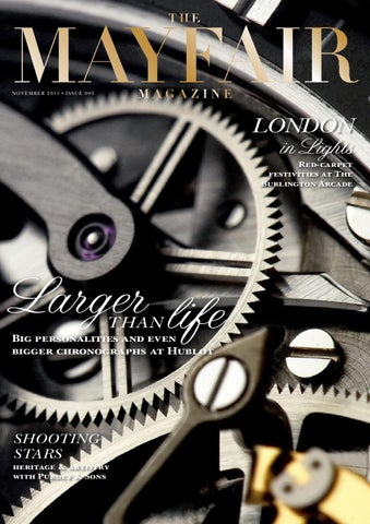 e3f4654c37d The Mayfair Magazine November 2011 by Runwild Media Group - issuu