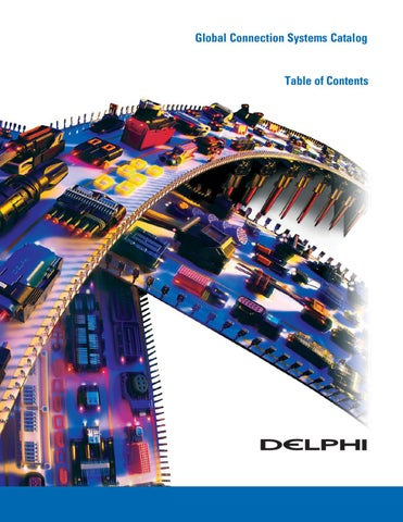 Delphi Connection Systems by Canyon Fleet Outers - issuu on