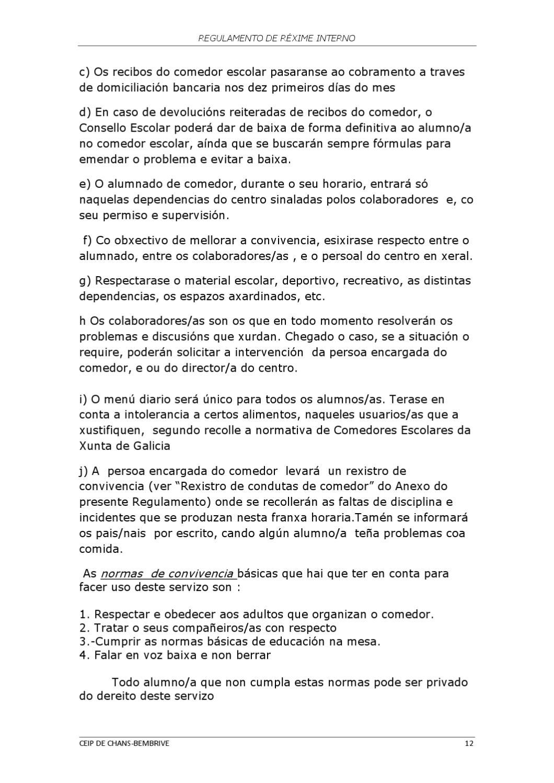 REGULAMENTO DE REXIME INTERNO by Rosa VArela - issuu