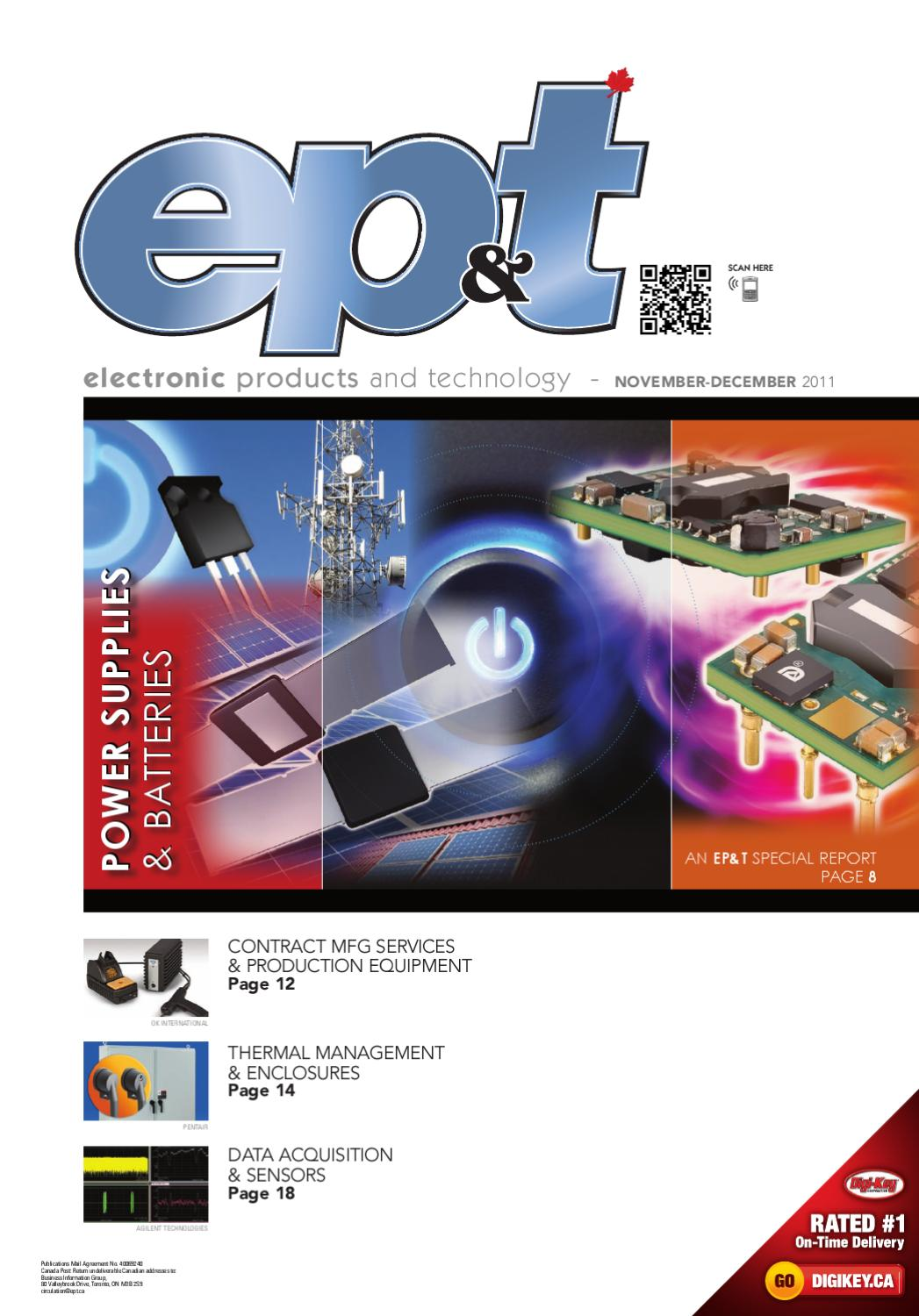 Electronic Products and Technology November December 2011 by