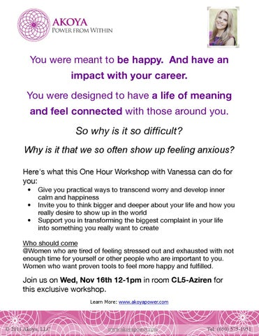 Google workshop invitation by vanessa loder issuu you were meant to be happy and have an impact with your career you were designed to have a life of meaning and feel connected with those around you stopboris Images