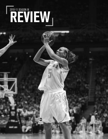 8175053d 2011-12 Lady Vols Basketball Media Guide -- 2010-11 Review by The ...