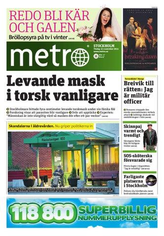 20111115 se stockholm by Metro Sweden - issuu 618ebe8b07dcf