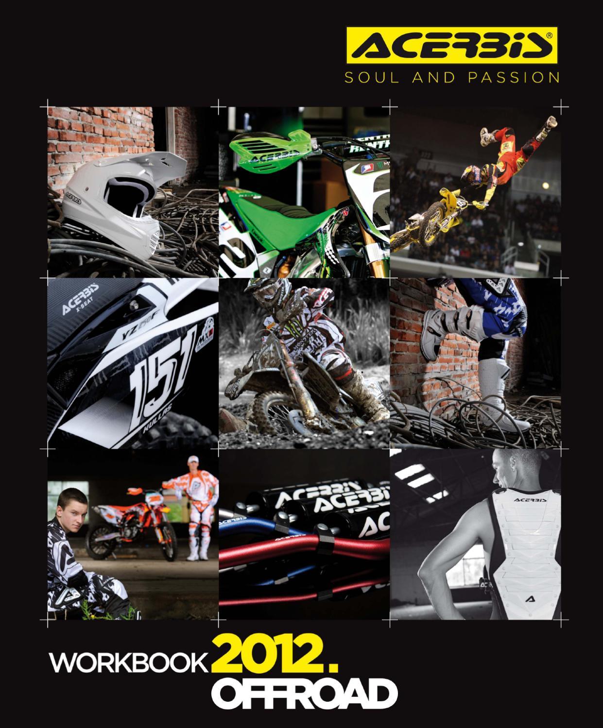 ACERBIS mano PROTEZIONI UNIKO con anbaukit BIANCO MX Motocross Enduro Quad SM