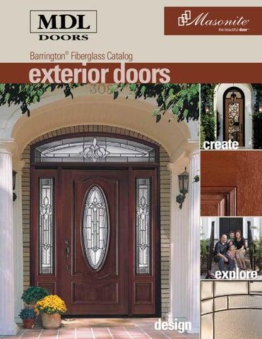Barrington速 Fiberglass Catalog. exterior doors create & 2011 Barrington FIberglass Brochure by MDL Doors - issuu
