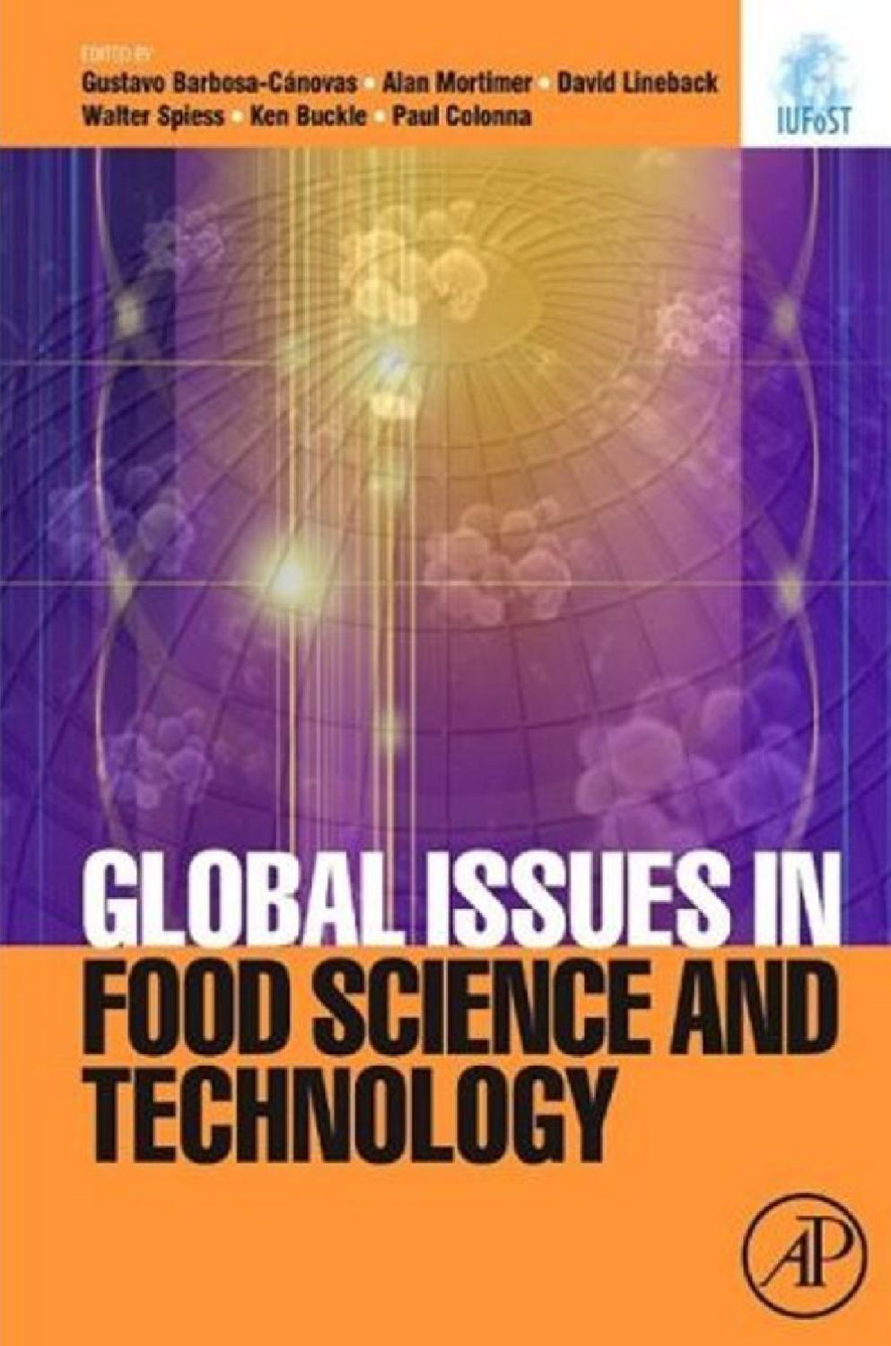 Food Science And Technology Global Issues By Lucian Cuibus