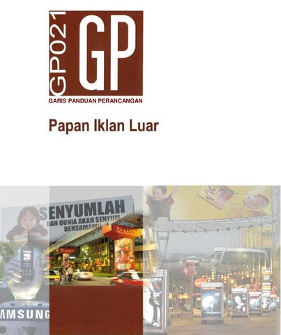 Gp Papan Iklan Luar By Rd Jpbd Issuu