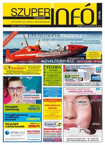 2011-46 by Dombovari Szuperinfo - issuu 7b4261778f