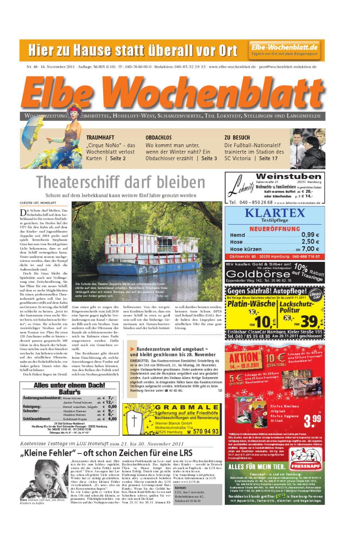 Eimsbüttel Kw46 By Elbe Wochenblatt Verlagsgesellschaft Mbh Cokg