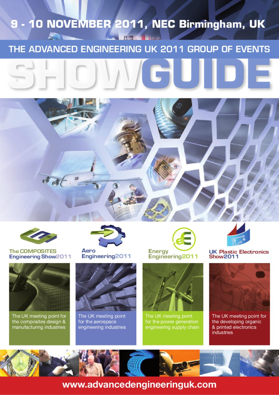 The Advanced Engineering UK 2011 Group of Events by The