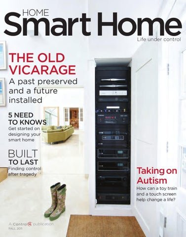 magazine control4 smart home by sg electronics issuu. Black Bedroom Furniture Sets. Home Design Ideas