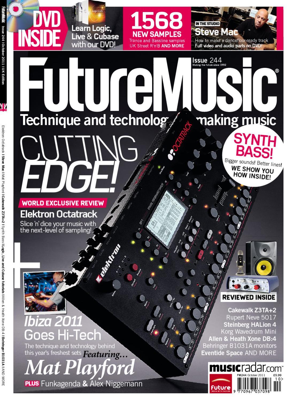 Future Music 244 Sampler by Future PLC - issuu